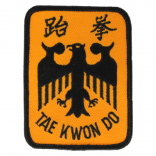 Tae Kwon Do Eagle Patch